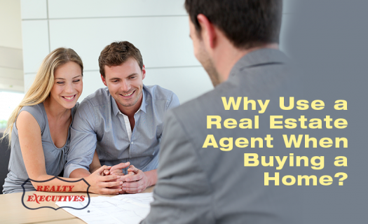 using a real estate agent to buy a home