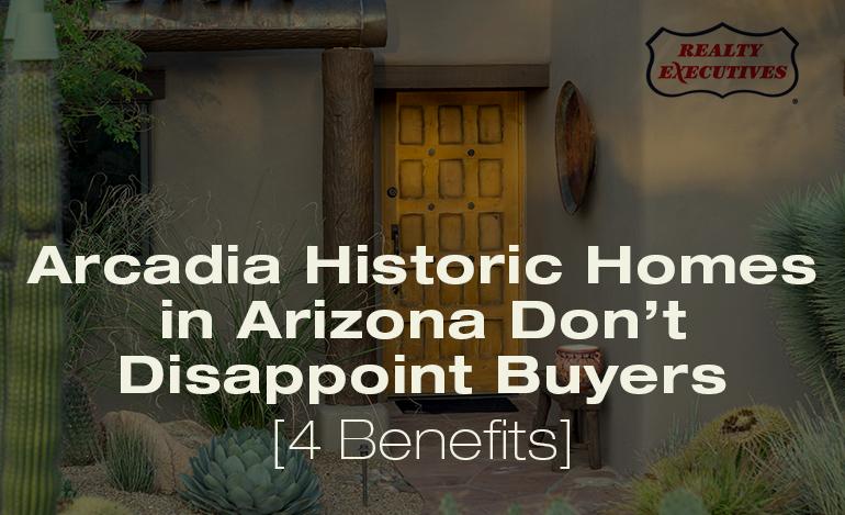 Arcadia Historic Homes in Arizona