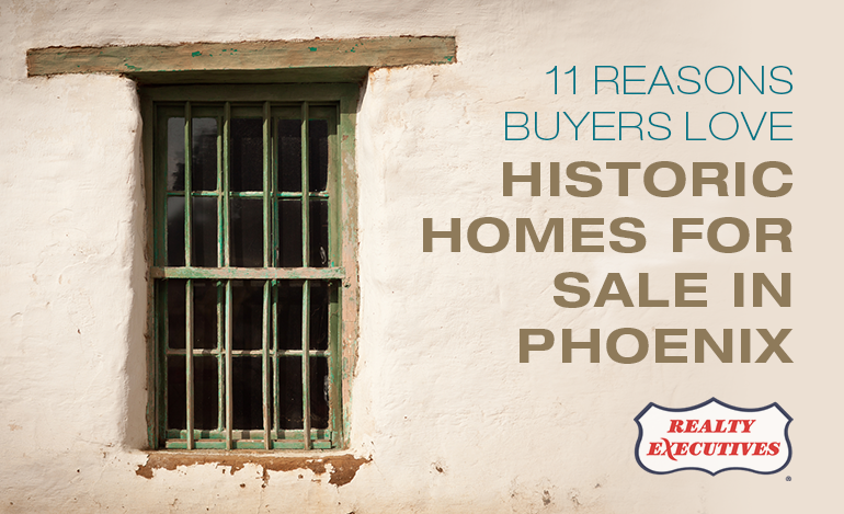 Historic Homes for Sale in Phoenix