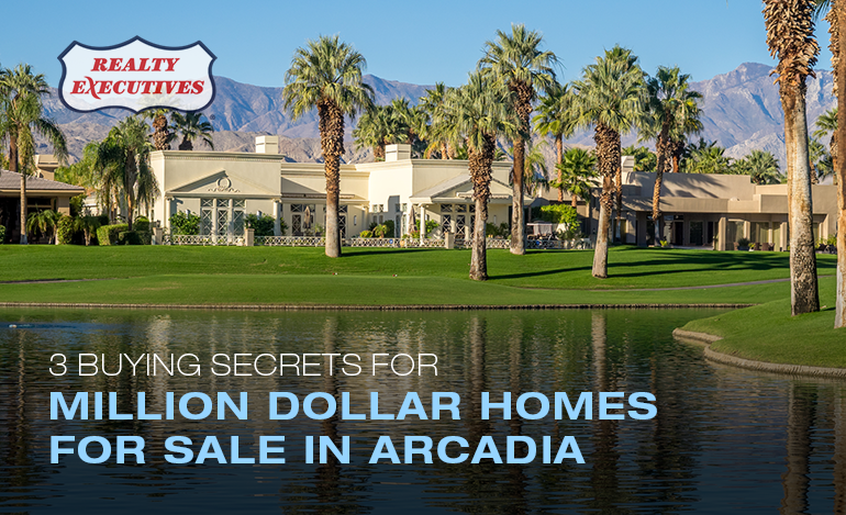 Million Dollar Homes for Sale in Arcadia