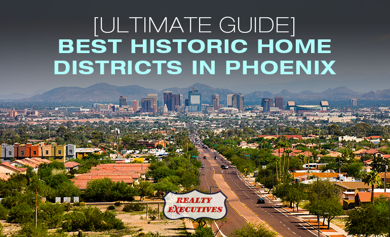 Historic Home Districts in Phoenix