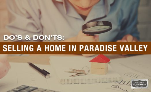 selling a home in paradise valley