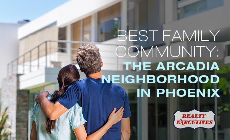 The Arcadia Neighborhood in Phoenix