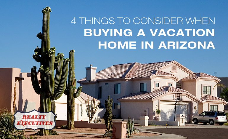 Buying a Vacation Home in Arizona