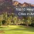 wealthiest cities in AZ